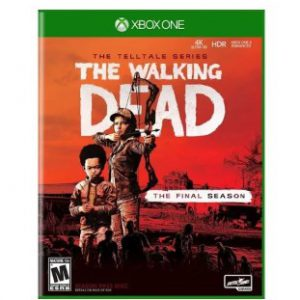 TT02021 Walking Dead the Final Season Video Game for Xbox-One ESRB-Mature17 Plus Media