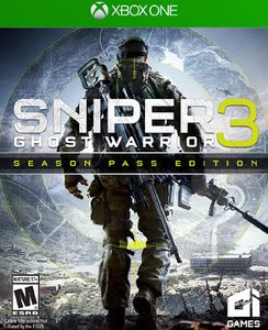 USA XB1 CIT 01514 Sniper Ghost Warrior 3 Season Pass Edition - Xbox One