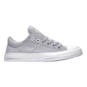 Women's Converse Chuck Taylor All Star Madison Iridescent Lace Ox, Size: 6 M, Wolf Grey/Silver/White Canvas/Rubber