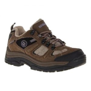 Women's Nevados Klondike Waterproof Low Hiking Shoe, Size: 7.5 M, Chocolate Chip/Stone/Hyacinth Suede