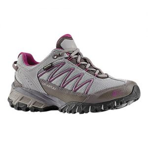 Women's The North Face Ultra 110 GORE-TEX Hiking Shoe, Size: 6 M, Q-Silver Grey/Wild Aster Purple
